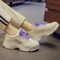 chic运动鞋女学生百搭休闲港味鞋子韩版白色球鞋网红小白鞋帆布鞋