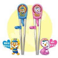 啵乐乐韩国进口儿童不锈钢学筷子器