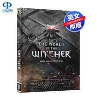 现货巫师的世界3巫师3游戏设定集游戏指南英文原版 the World of the Witcher 官方授权原版完整版