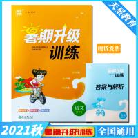 2021版 通城学典暑期升级训练语文四年级 全国通用