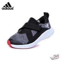 【到手价:319元】阿迪达斯Adidas童鞋18春新款男女童跑步鞋防滑耐磨儿童运动鞋针织鞋面户外休闲鞋 (5-15岁可