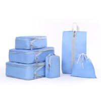 出差旅行收纳袋5套装6件套行李箱衣物收纳袋整理袋内衣收纳包