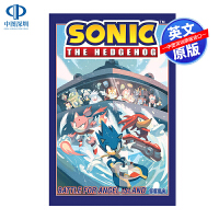 英文原版 刺猬索尼克第三卷:天使岛之战 Sonic The Hedgehog, Vol. 3: Battle For A