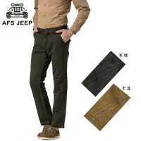 afs jeep男士休闲裤战地吉普男装户外休闲纯棉工装长裤男1585