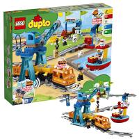 当当自营 LEGO乐高得宝DUPLO系列10875智能货运火车大颗粒积木玩具