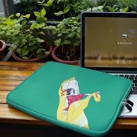联想pro15.6英寸笔记本电脑包13苹果12戴尔15手提内胆包13.3少女