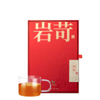 八马茶叶 武夷正岩肉桂乌龙茶岩茶岩苛系列乌龙茶叶礼盒装64g