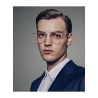 保圣(PROSUN)光学镜架近视镜框中性时尚复古光学眼镜架PJ5009 B92亮透明
