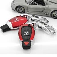 奔驰钥匙壳钥匙包扣车用钥匙套C级E级C200L改装ML350s320glk汽车