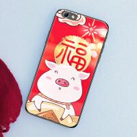 iphone8手机壳苹果7玻璃ihone8套ipone7过年phone8小猪网红sipone7创意i iphone7/