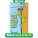 顺丰发货 (99元5件)汪培�E推荐第二阶段英文原版书单 I Can Read, Level 1 The Fire Ca