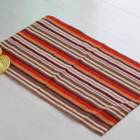 木儿家居 地垫门垫脚垫地毯进门卫生间垫子加厚可爱榻榻米入户塑料PVC条纹