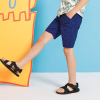 【1件3折到手价:26.7】moomoo童装男童下装夏季新款热带沙滩休闲时尚中大童短裤