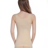 肚子女薄塑身衣收腹背心美体塑腰上衣紧身塑形束身内衣