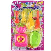 义乌儿童玩具批发 过家家卡装餐具地摊货源 礼物创意小礼品 卡装 7776餐具