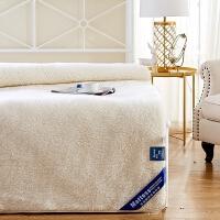 羊毛床垫冬季垫被垫背1.5床褥1.8m加厚保暖垫子冬天褥子学生1.2米