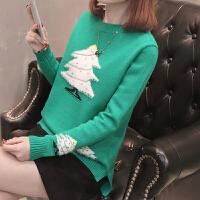 女士毛衣春装2018新款女短款针织套头打底衫上衣女韩版时尚潮