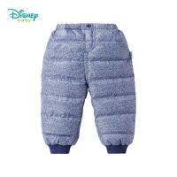 迪士尼Disney童装 男童羽绒长裤冬季新品儿童外出防风防潮裤子194K932