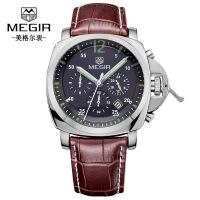 男士手表 新款多功能计时运动男士手表腕表