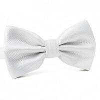 韩版白色领结男士白领结正装结婚英伦伴郎服蝴蝶结领结