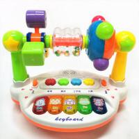 0-1-3岁男孩女孩玩具新生婴儿宝宝转台摇铃0-3-4-6-8-12个月