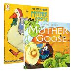 英文原版 My Very First Mother Goose 鹅妈妈童谣绘本全版合集2本套装 0-3岁低幼儿童英语启