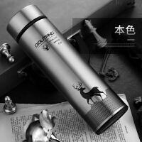 保温杯 男士女不锈钢水杯子水壶便携水瓶学生商务泡茶杯3985
