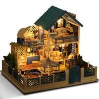爱琴海之旅diy小屋手工制作拼装模型房子大型别墅创意玩具生日礼物