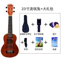 新品21寸23寸尤克里里Ukulele初学者乌克丽丽夏威夷小吉他乐器a294