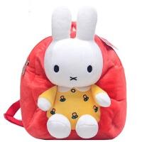 小兔子可爱卡通儿童书包 幼儿园宝宝毛绒双肩背包玩具男女童