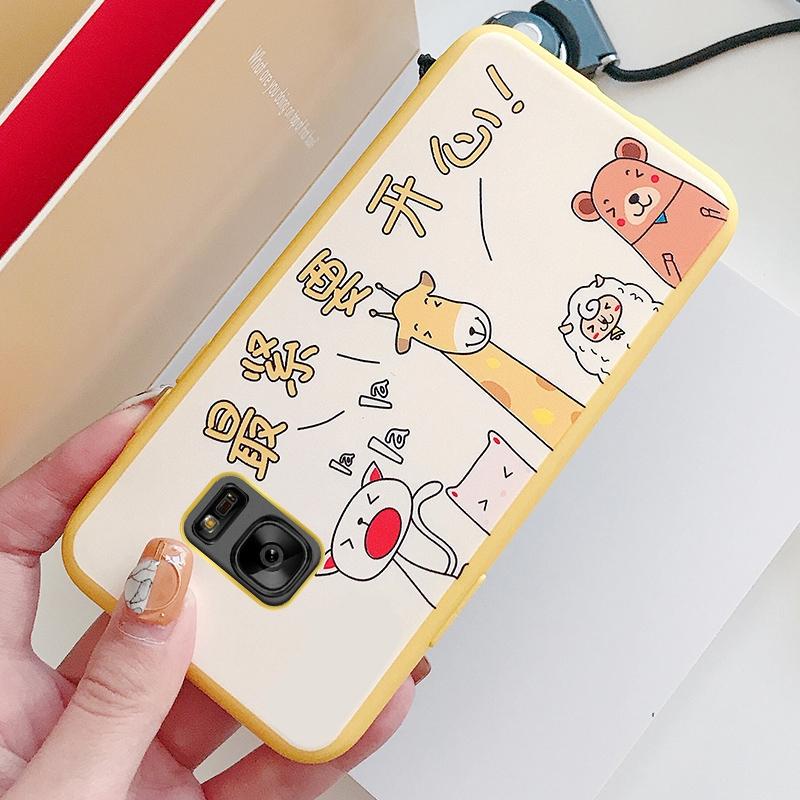 三星s7手机壳sm-g9300套g930a可爱g930f卡通3新款g9308男女直屏潮