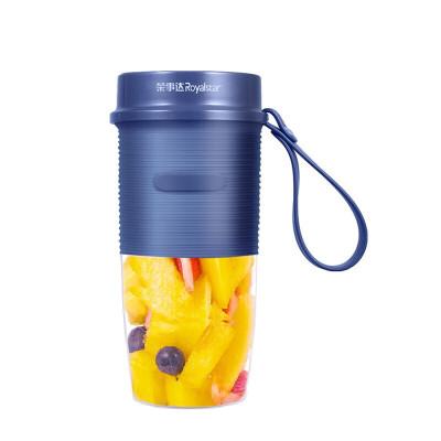荣事达 迷你榨汁机家用便携电动果汁机 多功能料理机果汁杯榨汁杯小型学生杯RZ-100V80-蓝色 无线榨汁/强劲动力/颜值典范