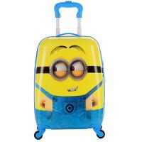 儿童行李箱18寸行李箱万向轮男女小学生拉杆书包19寸旅行密码箱潮