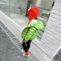 20180515075155768宝宝轻薄儿童羽绒服女童男童短款冬装外套2-3-4-5岁童装2017新款