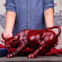 华尔街牛摆件生肖牛树脂工艺品家居客厅书房办公室装饰品桌面摆设