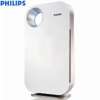 飞利浦(PHILIPS)空气净化器 家用卧室除PM2.5甲醛烟尘雾霾 智能过滤 AC4072 (金属白)
