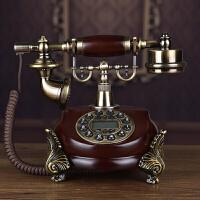 仿古电话机欧式复古电话机时尚创意摆件办公家用座机 920c无线插卡版(仅支持电信卡) 颜色联系客服备