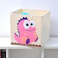 收纳箱 宝宝玩具收纳箱布艺折叠牛津布整理箱衣服储物箱儿童卡通收纳盒