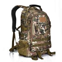 吃鸡三级包战术背包登山包双肩包潮男迷彩书包帆布户外背包旅行包