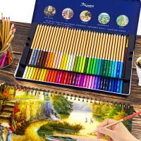 中华牌水溶性彩铅笔72色彩色铅笔48色专业油性36色初学者学生美术用品用绘画成人用手绘马克笔画笔套装批发
