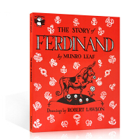 英文原版进口 The Story of Ferdinand 爱花的牛 美国百本必读 公牛历险记动物之间的感人故事儿童图