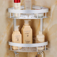 浴室置物架 卫生间厕所挂架 收纳架壁挂 太空铝置物架 毛巾架