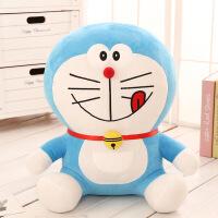 正版机器猫哆啦a梦公仔毛绒玩具叮当猫抱枕布娃娃礼品娃娃