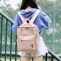 双肩包女2018新款韩版原宿高中学生书包背包