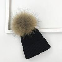 宝宝帽子冬季1-2-8岁4男童女童针织帽6-12个月保暖婴儿毛线帽儿童 均码