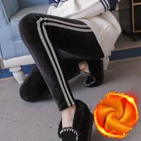 打底裤孕妇裤子2018秋冬新款加绒加厚孕妇打底裤托腹裤长裤冬季外穿时尚保暖裤子女