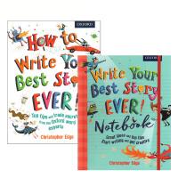 给孩子的牛津写作课 Oxford How to your best story ever + Write Notebook 牛津写作指导练习书+笔记本2册 小学生如何写英文作文