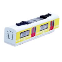 合金地铁和谐号火车模型 声光回力轻轨列车仿真 儿童玩具小火车