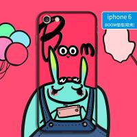 原创 苹果6手机壳女款个性潮硅胶简单6s抖音磨砂软壳薄iPhone6卡通可爱6plus个性创意 苹果6/6s-小年轻怪