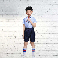 六一儿童演出服装女合唱服小学生校服套装幼儿朗诵表演服男